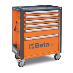Wózek narzędziowy z 6 szufladami
