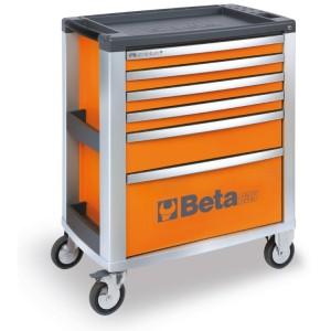 Wózki narzędziowe z 6 szufladami