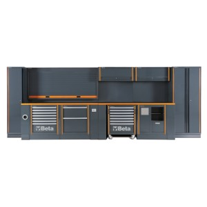 Pełny zestaw mebli warsztatowych systemu RSC55