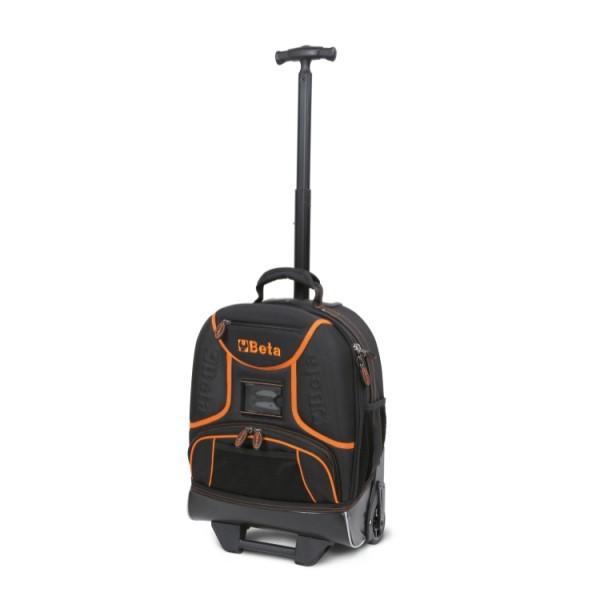 9378f68f25d83 Plecak narzędziowy z tkaniny, na kółkach, pusty C6T - 2106 – Beta Tools
