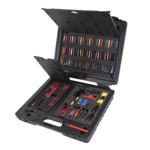 Sortido de 94 conectores de teste auto para utilização com as principais ferramentas de diagnóstico