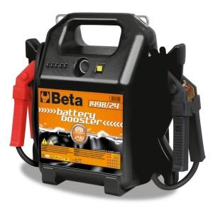 Arrancador de bateria portátil para veículos ligeiros e comerciais, 12-24V
