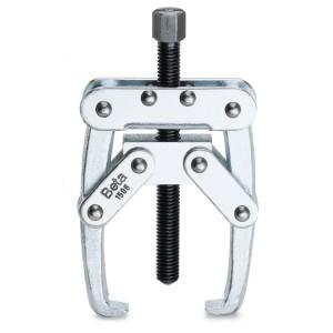 Extractor de duas pernas com aperto automático