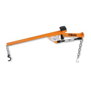 Alavanca para extracção do terminal do braço oscilante da suspensão e dos amortecedores