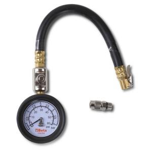 Punho para medir a pressão dos pneus