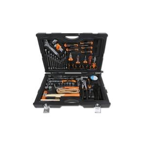 Jogo de 55 ferramentas para manutenção naval com caixa