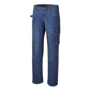 Jeans de trabalho elásticos