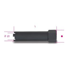 Chave de caixa para injectores  especialmente indicada  para os injectores Diesel  dos camiões Mercedes-Benz