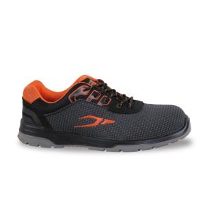 Sapato em tecido, elevada resistência à abrasão, com suporte à estabilidade do calcanhar