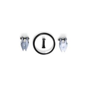 Fechos, pinos e batentes de segurança para os diferenciais de alavanca 8146C-8146