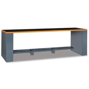Bancada com 2.8 m de comprimento, para combinar com mobiliário de oficina RSC55