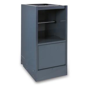 Pilar duplo para bancadas de trabalho em combinação com o mobiliário de oficina RSC55