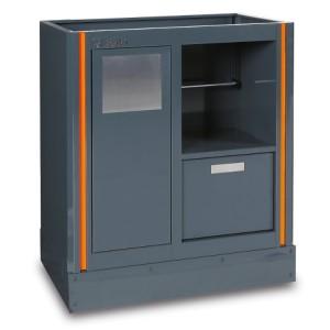 Módulo fixo, para combinar com mobiliário de oficina