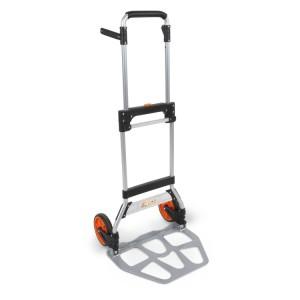 Carro de ferramentas tipo trolley rebatível, em alumínio
