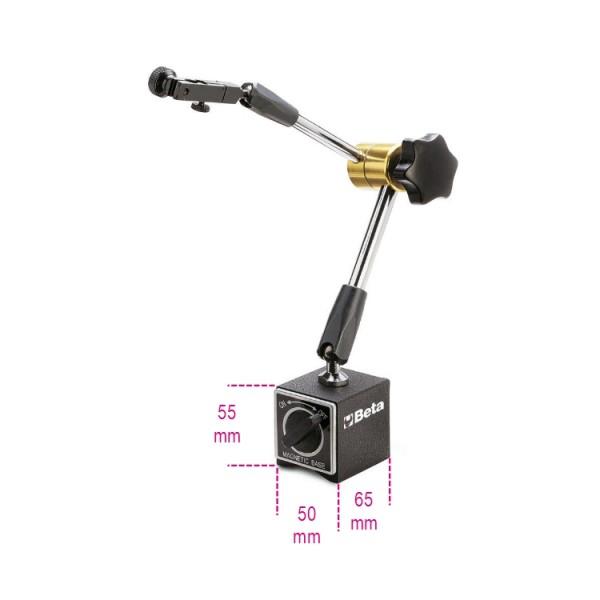 Suporte com base magnética articulado 1662SP2 – Beta Tools