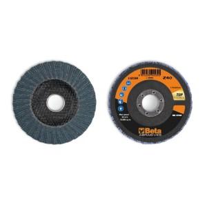 шлифовальные диски, циркониевый абразив, диск-подошва из стекловолокна, двустороннее исполнение
