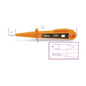 Отвертка-фазоискатель 125/250В, двойная изоляция