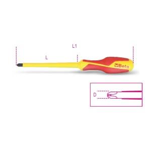 отвертка крестовая с профилем Phillips®, диэлектрическая