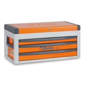 Портативный ящик для инструментов  с тремя выдвижными ящиками