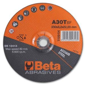 абразивно-отрезные стальные диски с утопленным центром