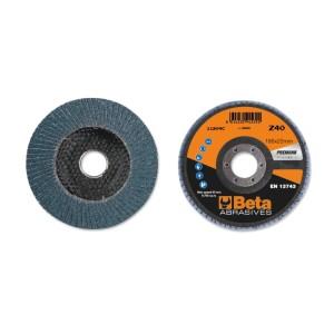 шлифовальные диски, циркониевый абразив, диск-подошва из стекловолокна, одностороннее исполнение
