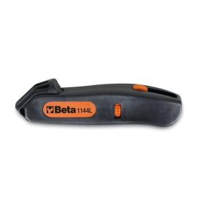Инструмент для зачистки кабеля с регулируемой толщиной лезвия, для поперечной и продольной зачистки