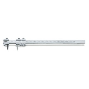 Штангенциркуль разметочный, усиленный корпус, сталь, точность измерения 0,05мм
