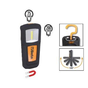 Компактный светодиодный фонарь повышенной яркости на аккумуляторах Литиевая полимерная батарея