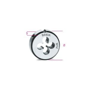 плашка круглая, метрическая резьба,  хромированная сталь
