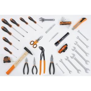 набор: 35 инструментов с крючками без панели