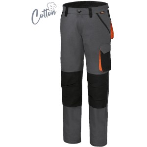 Рабочие штаны,  100% хлопок с эластаном, 220 г/м2 Приталенные
