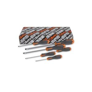Conjunto de 6 chaves de fenda Evox para parafusos de perfil fenda