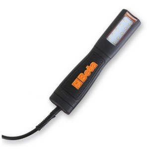 Lanterna com LEDs de alta luminosidade, 12-24V AC/DC