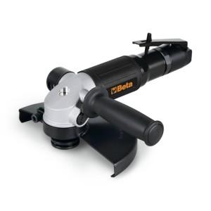 Esmerilhadeira angular, pneumática, com punho lateral auxiliar