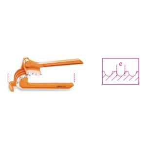 Curva-tubos para tubos de baixa expessura em cobre e ligas leves