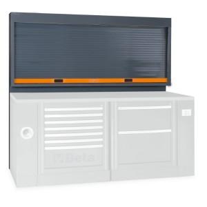 Sitema de painel de parede de ferramentas com obturador, para combinação de equipamento de oficina