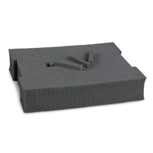 Inserto de espuma macia, pré-cubado, para maletas de ferramentas COMBO C99VI, C99V2 e C99V3 / 2C