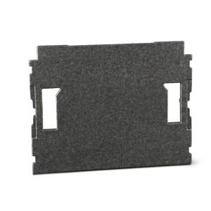Forro de cobertura para maletas de parede C99V1 e C99V3 / 2C