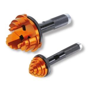 Ferramentas de bater para a instalação de rolamentos cônicos e retentores