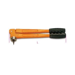 Alargador de tubos com suporte para matriz  de expansão intercambiável