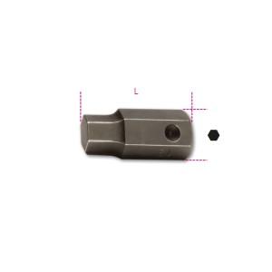 Bits de impacto, perfil sextavado macho, com encaixe de 16mm
