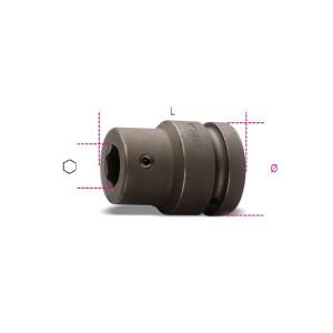 """Soquete porta-bits de impacto de 22mm, quadra de 1.1/2"""""""