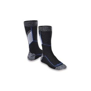 Meia até o tornozelo com inserções de textura respirável