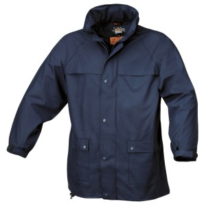 Jaqueta impermeável, azul
