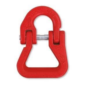 Elos de ligação a partir de elevação, para eslingas poliéster, ligas de aço de alta resistência