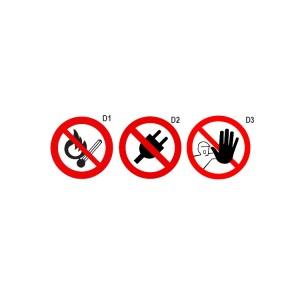 Verbotsschilder