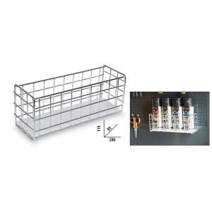 Flaschenträger aus Stahl für Wandbefestigung