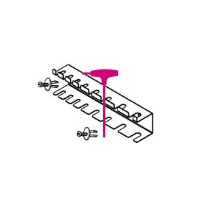 Halter für Sechskant-Stiftschlüssel