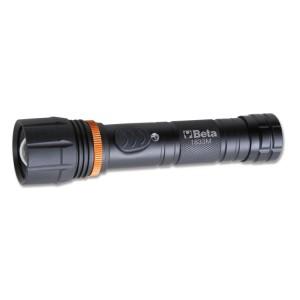 LED-Taschenlampe, leuchtstark, aus robustem eloxiertem Aluminium, bis zu 700 Lumen