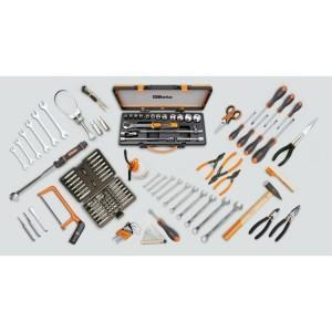 Werkzeugsortiment, 125-teilig